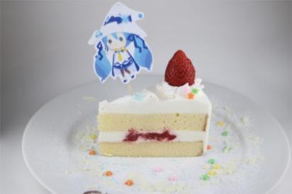 好き!雪!本気マジック ケーキ