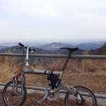 笠山へ自転車&登山![埼玉県比企郡小川町]
