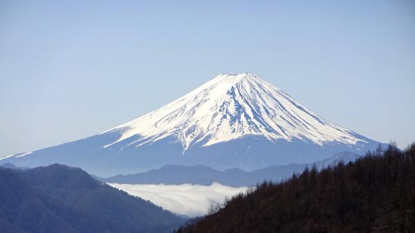 富士山 柳沢峠