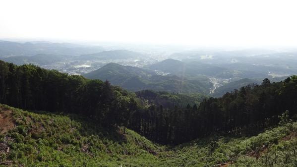 弓立山 山頂 展望