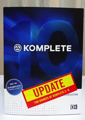 KOMPLETE10 update