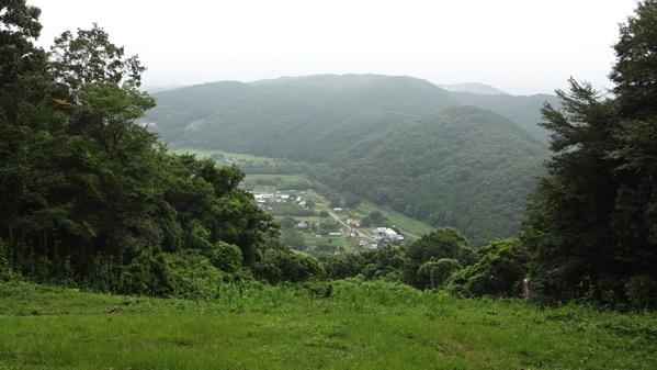 仙元山  小川町 ハイキング パラグライダー離陸場