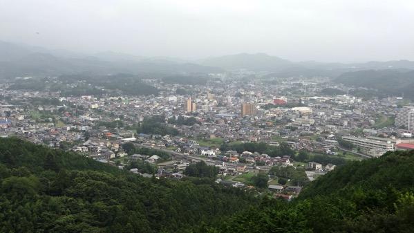 仙元山 見晴らしの丘公園 展望台 小川町