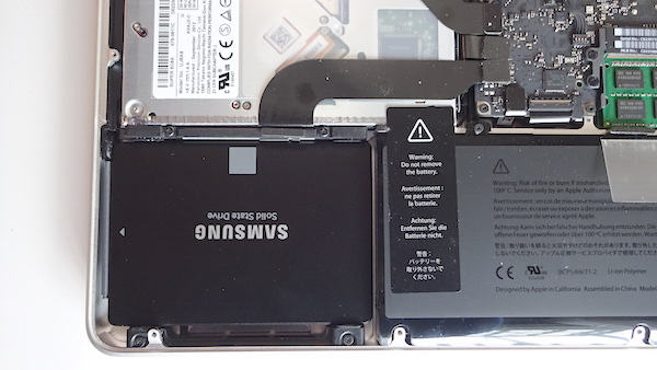 macbook pro 13inch mid 2012 ssd