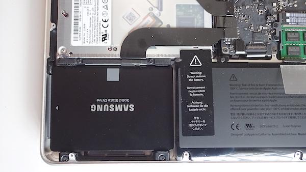 macbook pro 13inch mid 2012 ssd