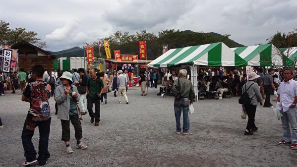 巾着田 曼珠沙華祭り 売店
