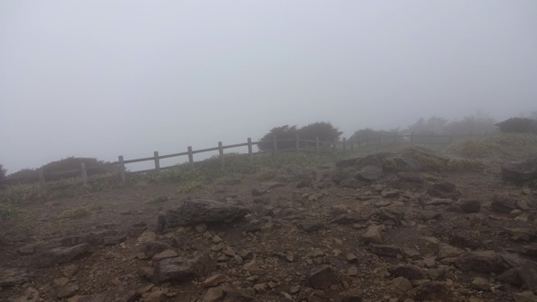 丸山山頂 霧降高原