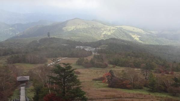 霧降高原 階段