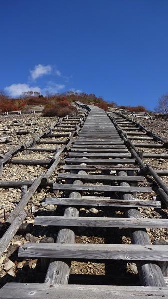 三国山 木段