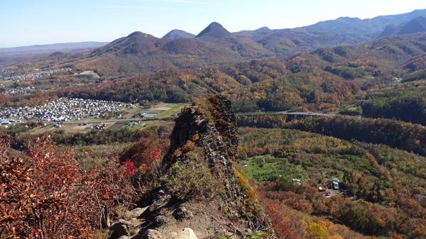 八剣山 紅葉 登山