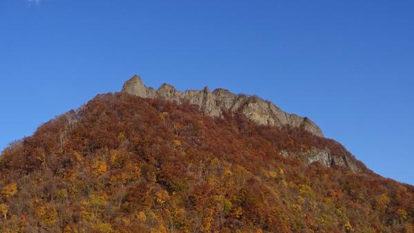 八剣山 観音岩山 紅葉
