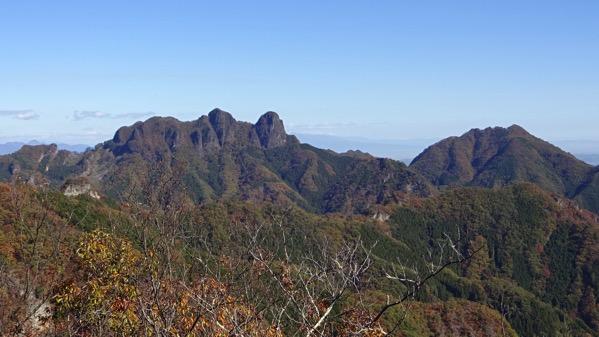 黒瀧山 見張台