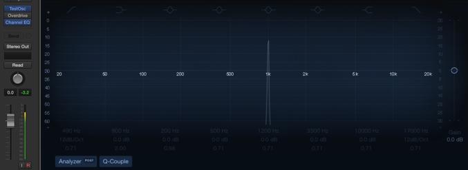 Logic Pro Test Oscillator