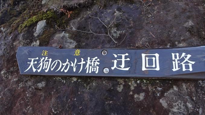 岩櫃山 天狗のかけ橋