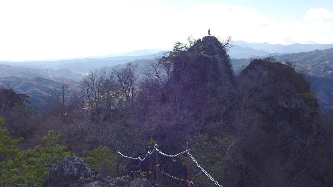 岩櫃山 山頂