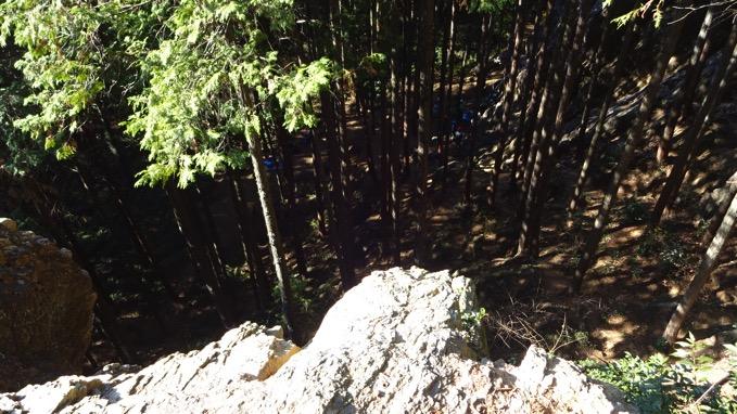 日和田山 コース ハイキング ロッククライミング