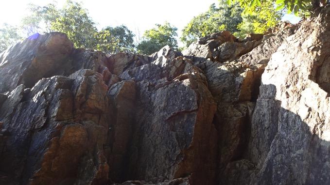 日和田山 岩場