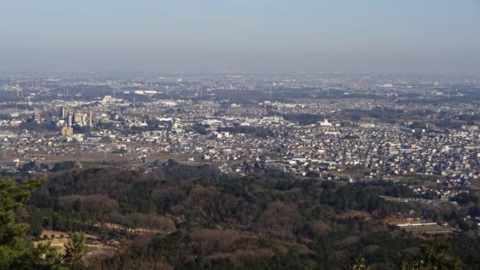 日和田山 山頂 展望