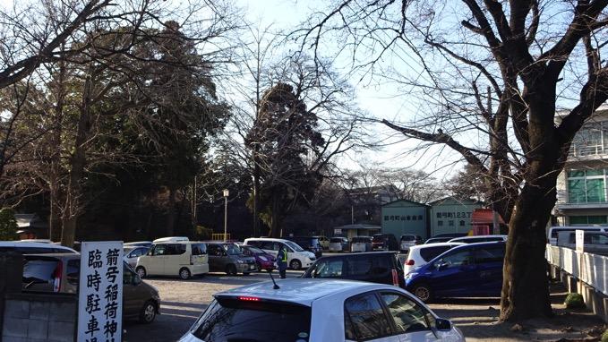 箭弓稲荷神社 駐車場
