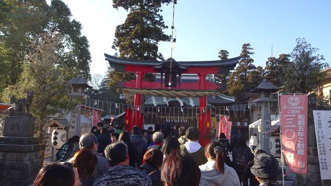 箭弓稲荷神社 初詣