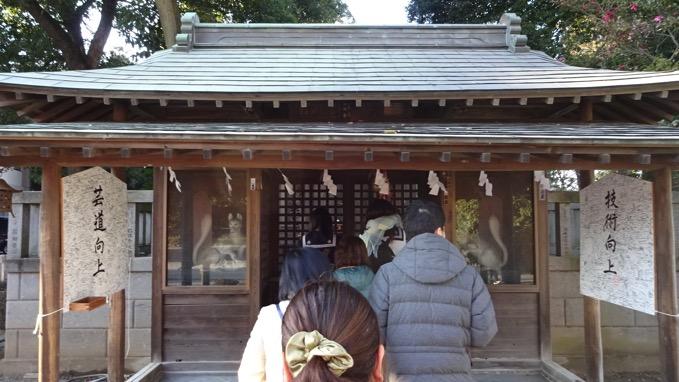 箭弓稲荷神社 社殿