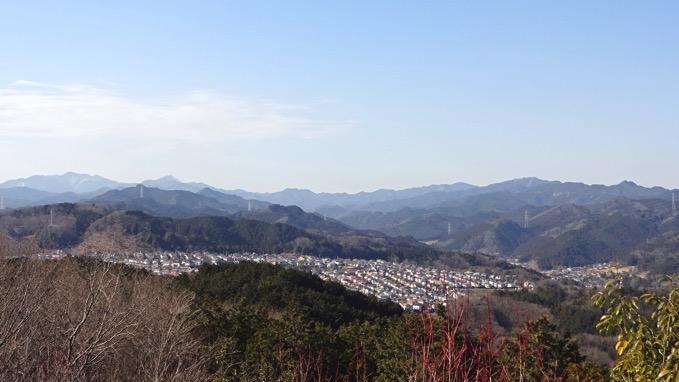 多峯主山 眺め