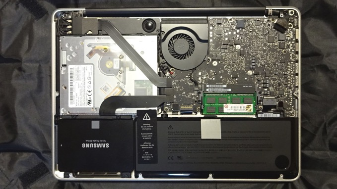MacBook Pro (13インチ 2012mid)