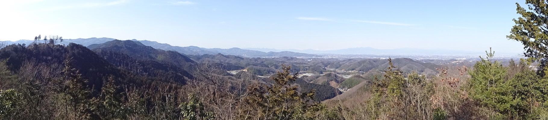 石尊山 山頂 展望