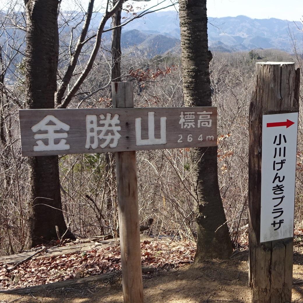 金勝山 小川町