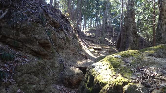 石老山 登山道