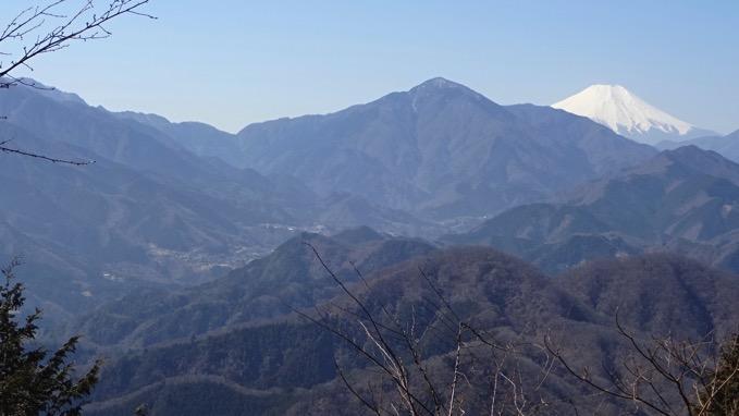 石老山 山頂 展望