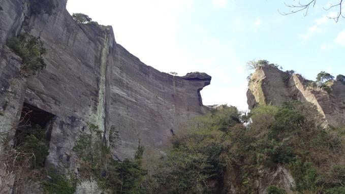 鋸山 石切り場跡 登山