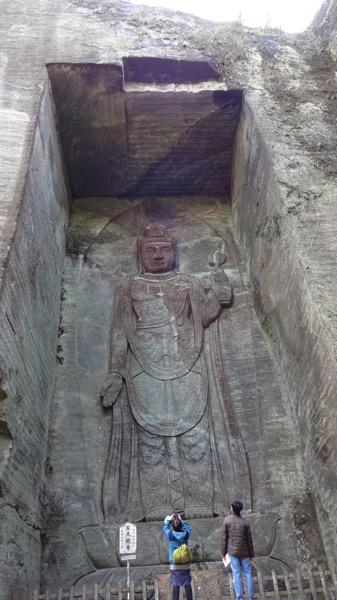 鋸山 日本寺 百尺観音