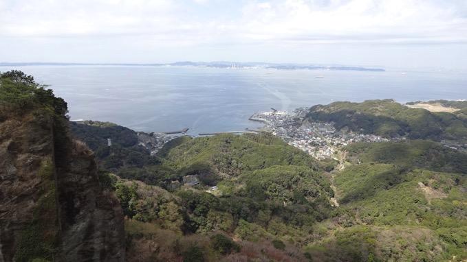 鋸山 日本寺 地獄のぞき 眺め