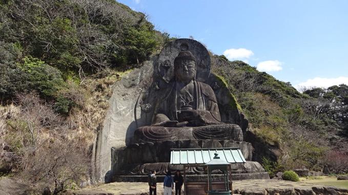 鋸山 日本寺 大仏