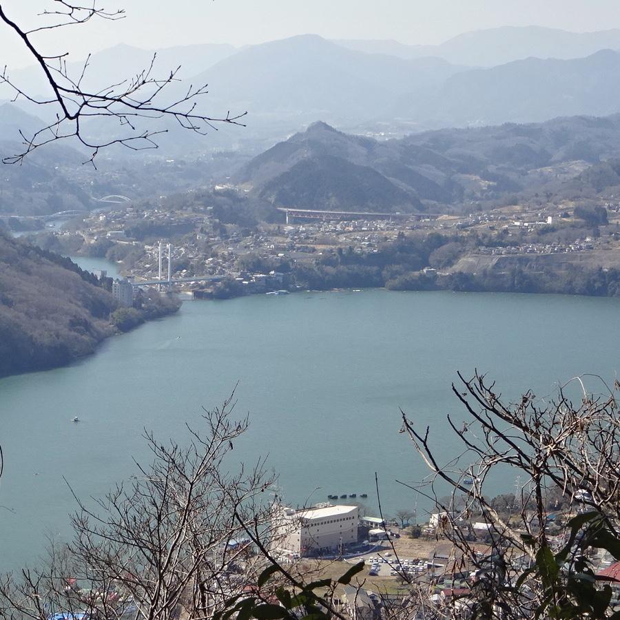 相模嵐山 相模湖