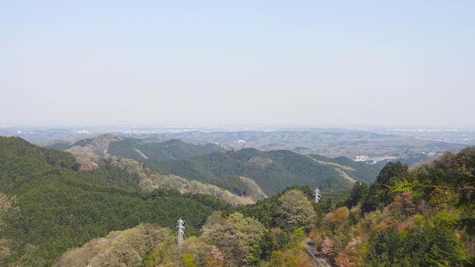 青梅丘陵 ハイキング