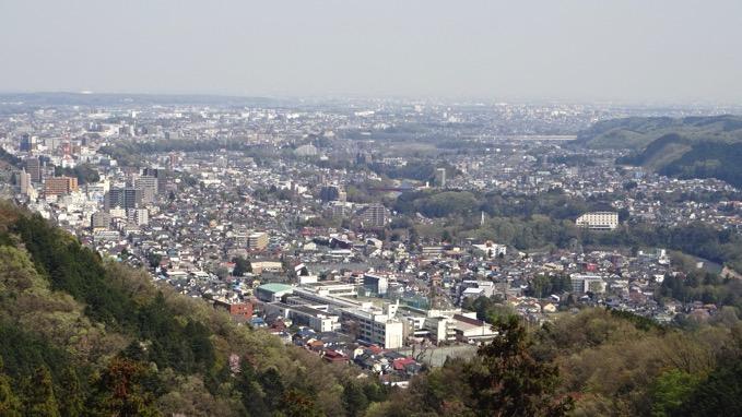 青梅丘陵ハイキング 眺望