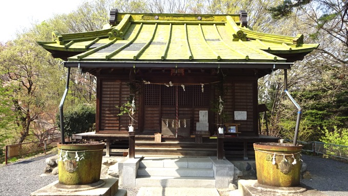 青梅丘陵ハイキング 金比羅神社