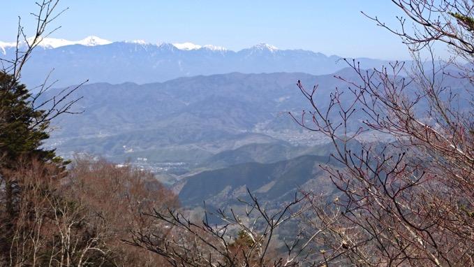 上日川峠 眺望