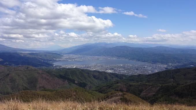 高ボッチ山 山頂 眺望 絶景