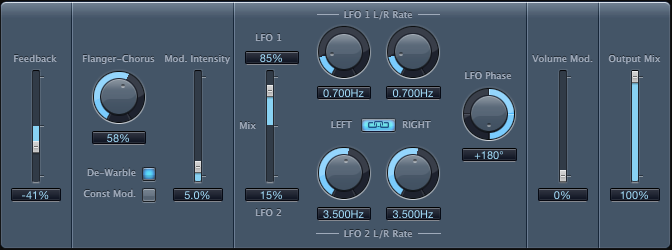 Logic Pro Modulation Delay