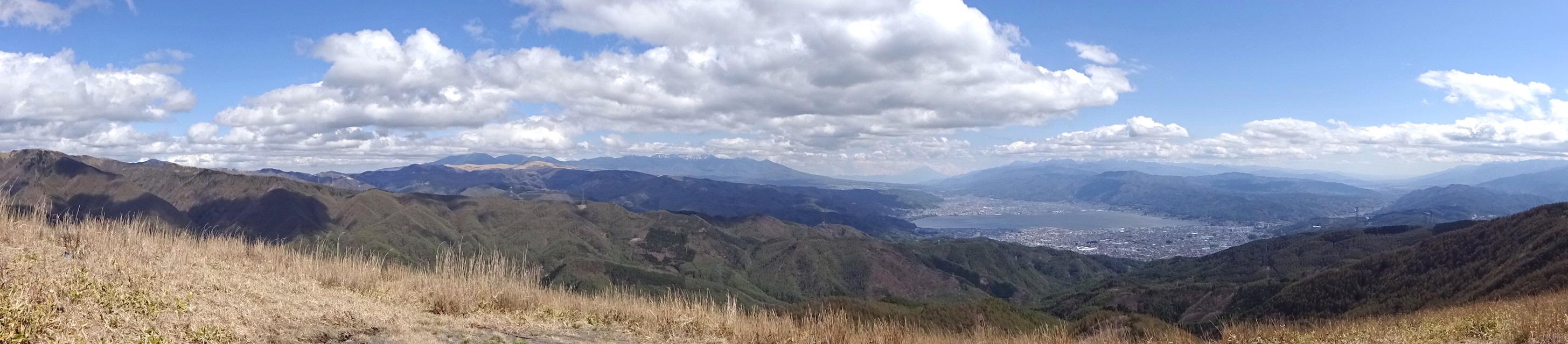 高ボッチ高原 山頂 絶景 眺め