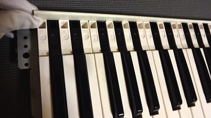 korg 01w FS鍵盤