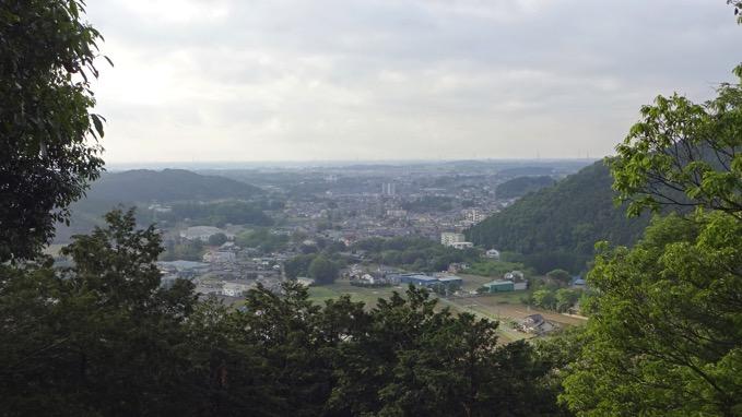 弘法山 山頂 展望