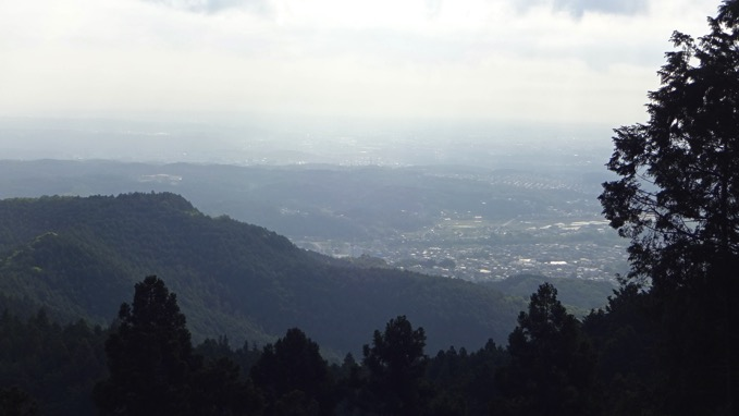 大高取山 山頂 展望