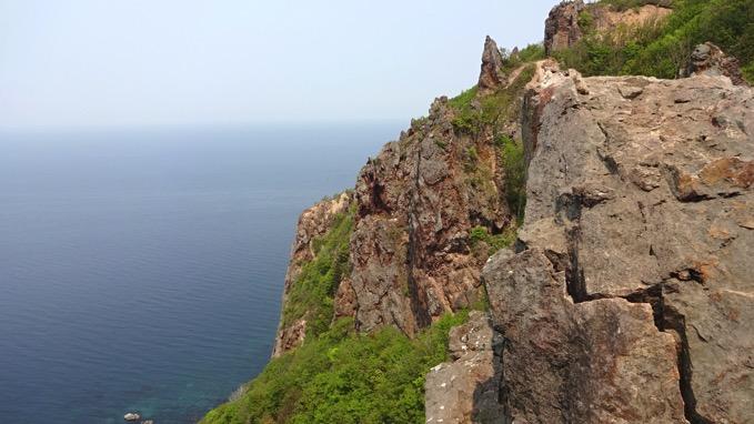 赤岩 岩壁