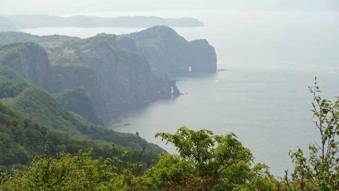 赤岩山 展望台 オタモイ海岸