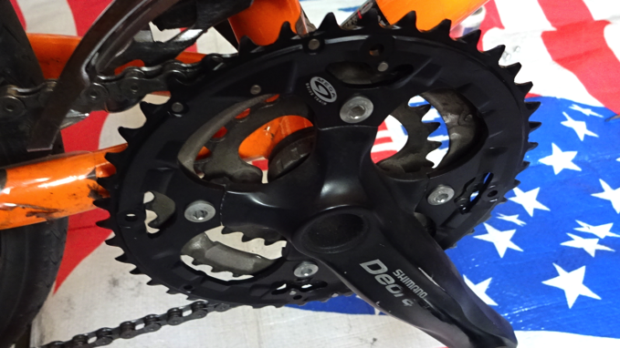 Deore chainring 44T