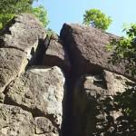 女鹿岩という伝説の巨石を探しに ときがわ町へ